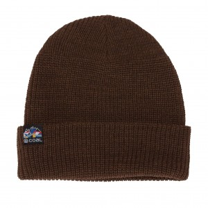 Шапка COAL 2021 The Squad Beanie Spice Brown