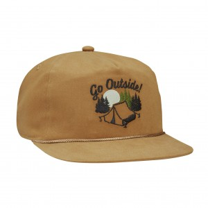 Кепка COAL 2021 The Field Light Brown