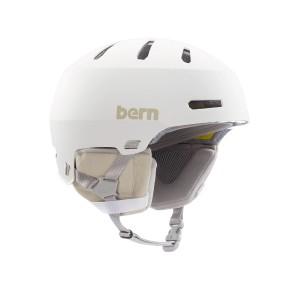 Шолом Bern Macon 2,0 MIPS Matte White w/ Gray Liner
