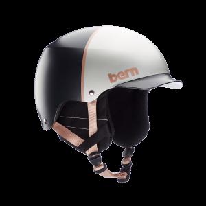 Шолом Bern  Baker EPS Satin Silver Hatstyle w/ Crankfit
