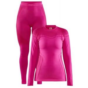Комплект термобілизни Craft CORE DRY FUSEKNIT SET W Pink