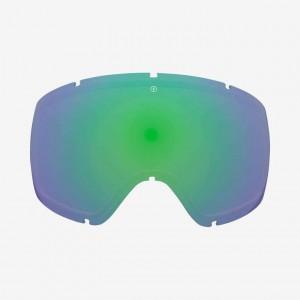 Лінза до маски Electric Egg Brose/Green Chrome