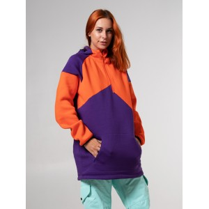 Худі SHWK Vertex Orange/purple
