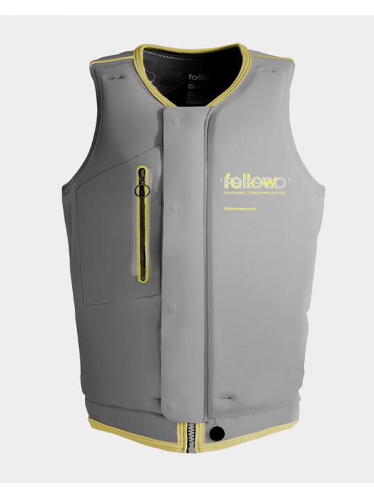 Жилет для вейкборда Follow - 2021 | Fresco Impact Vest - Lemon