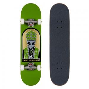 Скейтборд комплект Alian Workshop Priest Green Complete 7,75