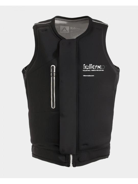 Жилет для вейкборда Follow - 2021 | Fresco Impact Vest - Black