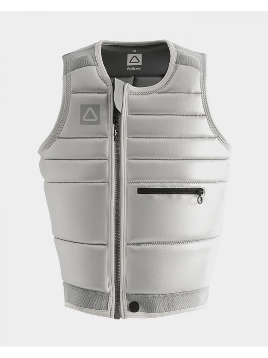 Жилет для вейкборда Follow - 2021 | TBA Impact Vest - Silver