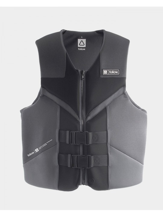 Жилет для вейкборду Follow - 2021 | Cure 50N Life Vest - Black