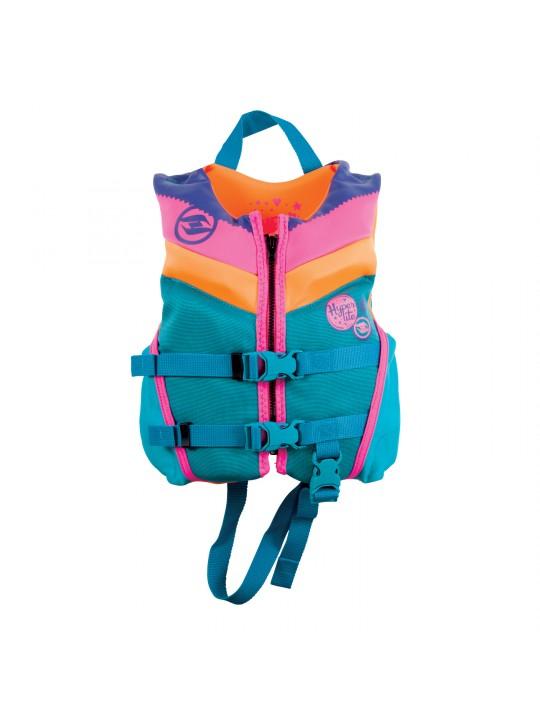 Жилет дитячий для вейкборду Hyperlite  Girlz Child Indy HRM Neo Vest