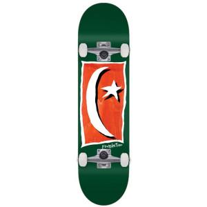 Скейтборд компліт Foundation Star Moon V2 Green  8,13  SU21