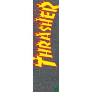 Наждак MOB Graphic Grip Thrasher Yellow Orange Flame