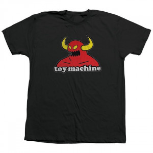 Футболка Toy Machine Monster Black