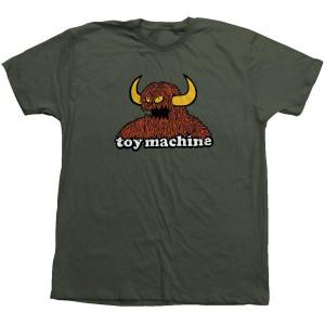 Футболка Toy Machine Furry Monster Moss