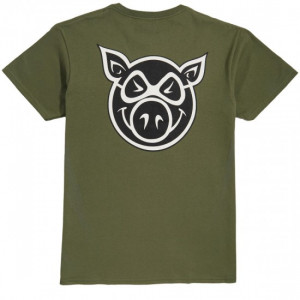 Футболка PIG F and B Head Military