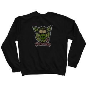 Світшот PIG Wheels Toxic Crew Sweat Shirt  Black