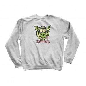 Світшот PIG Wheels Toxic Crew Sweat Shirt  Gray