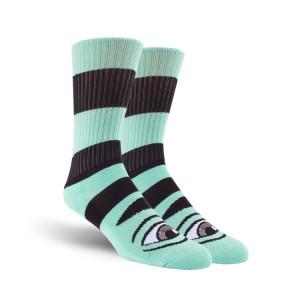 Шкарпетки Toy Machine Sect Eye Big Stripe Mint