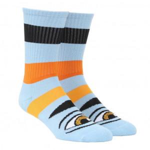 Шкарпетки Toy Machine Sect Eye Big Stripe Blue