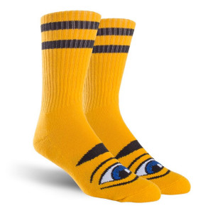 Шкарпетки Toy Machine Sect Eye Mustard
