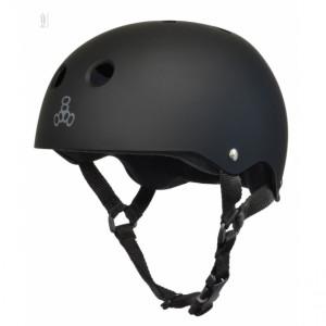 Шолом Triple8 Sweatsaver Helmet Black All Black