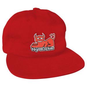 Кепка Toy Machine Devil Cat Red