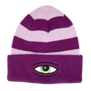 Шапка Toy Machine Sect Eye Stripe Purple