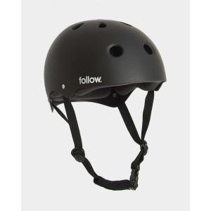 Шолом Follow Wake Safety First Helmet Black