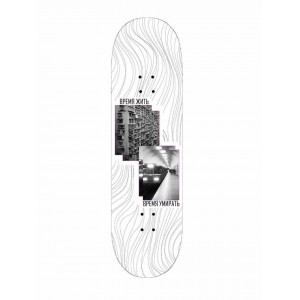 Скейтборд дошка Zeit Zu Pink House 8,5 +  Free Grip