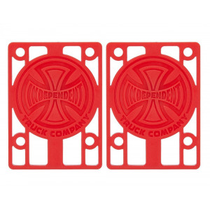 Райсери Independent  Riser Pads 1/8 Red