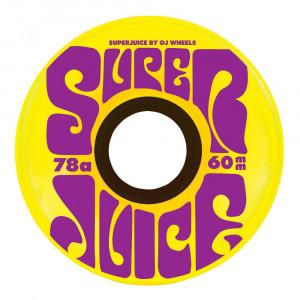 Колеса OJ Soft Wheels Super Juice 78a Yellow 60 MM