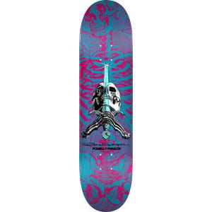 Скейтборд дека Powell Peralta Deck Skull & Sword Shape Pink 8,75 FA21