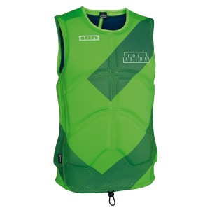 Жилет ION Collision Vest lime green/navy