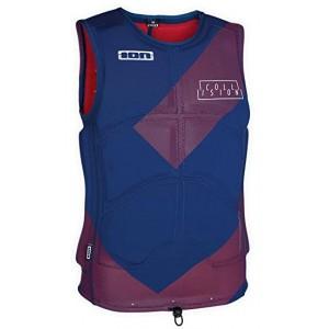 Жилет   ION Collision Vest navy blue/red