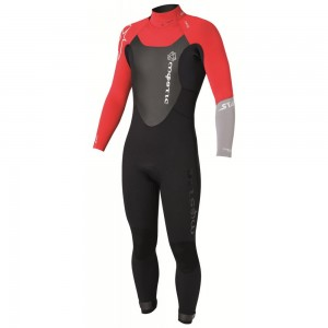 Mystic Star 5/4 D/L Fullsuit black/red