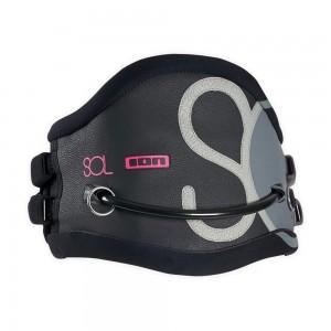 Трапеция жен. ION Kite Waist Harness SOL black, 38/M4