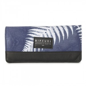 Кошелек жен. Rip Curl EclipseWind Cbook Wallet blue  one Size