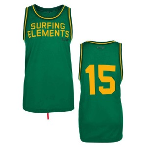 Футболка ION Basketballshirt jelly green/615