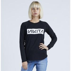 Nikita   WILD L/S TEE BLACK