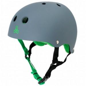 Шлем Triple8 лето Brainsaver Rubber Carbon