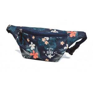 BORN поясная сумка S гавайские цветы