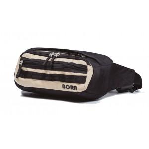 BORN поясная сумка L чёрно-беж