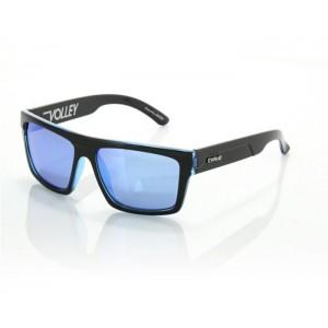 Carve Volley Black Clear Blue Polarized Iridium Blue Lens 3023