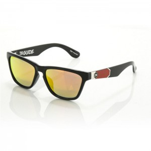 Carve The Guide Balck Iridium Polarized Red Lens 2520