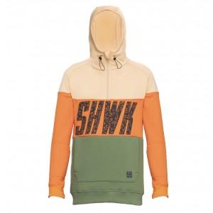 Худі SHWK Exception Beige/Orange