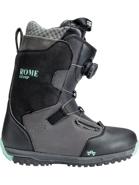 Черевики Rome Stomp Women's Black Mint