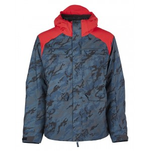 Куртка  BonFire Structure Jacket Slate Camo