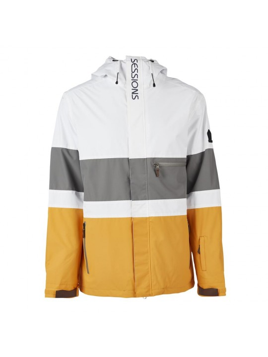 Куртки Sessions Spearhead Jacket White