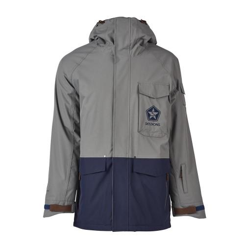 Куртки Sessions Suply Jacket Gunmetal