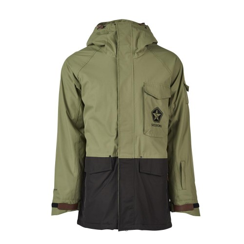 Куртки Sessions Suply Jacket Olive