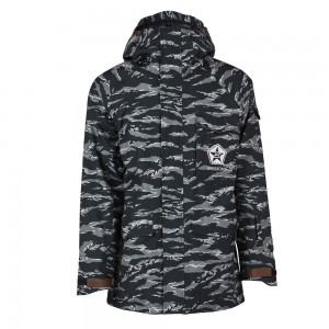 Куртки Sessions Suply Jacket Black Tiger